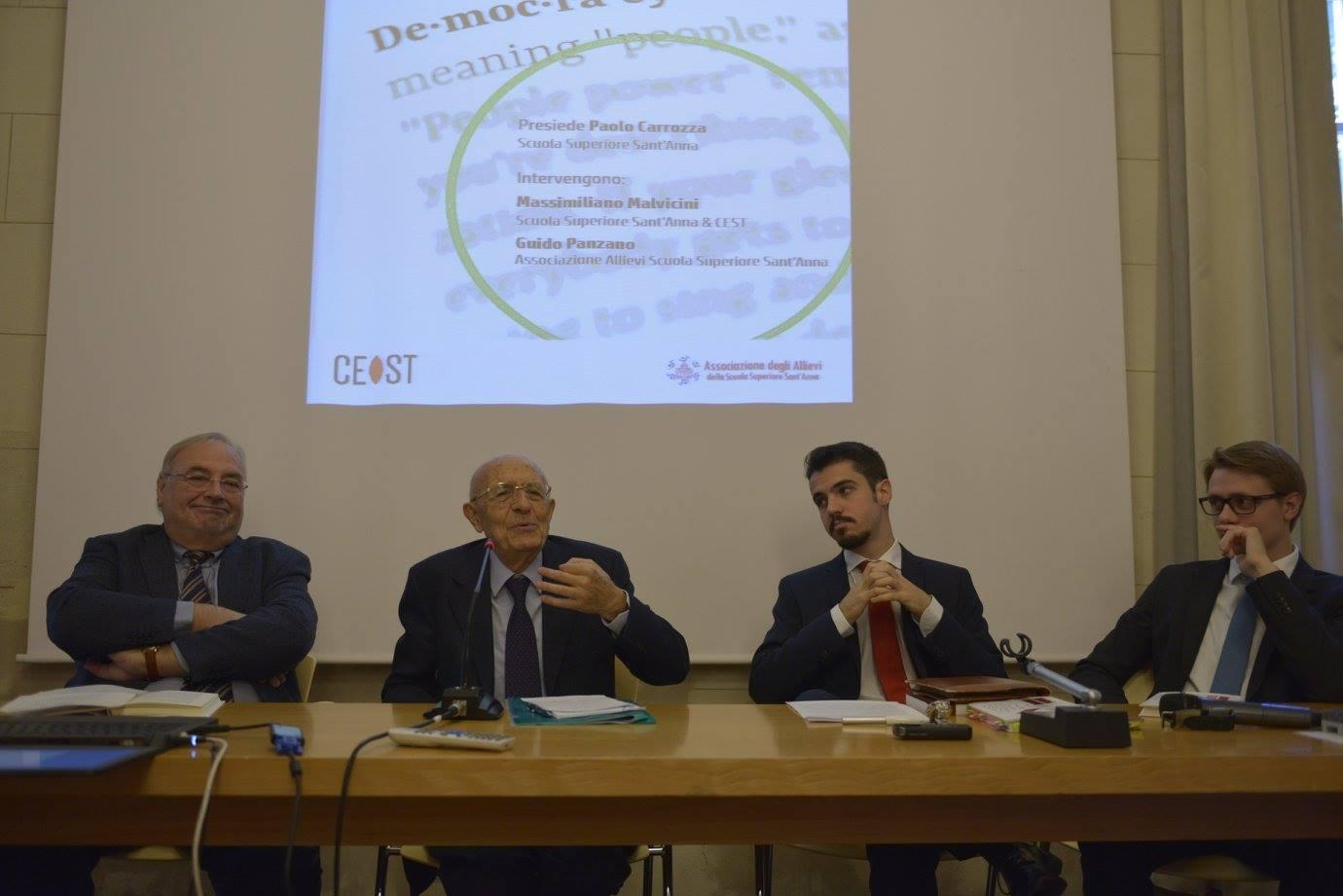 Presentazione del libro di Sabino Cassese, con l'autore
