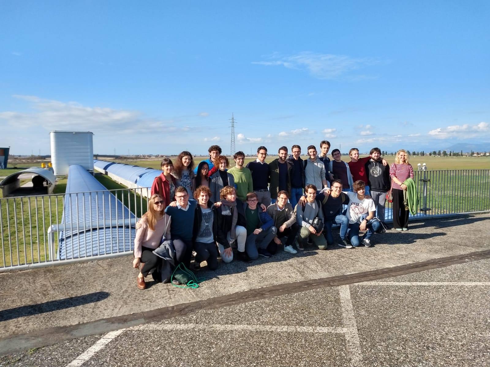 Visita degli Allievi al Centro VIRGO di Cascina