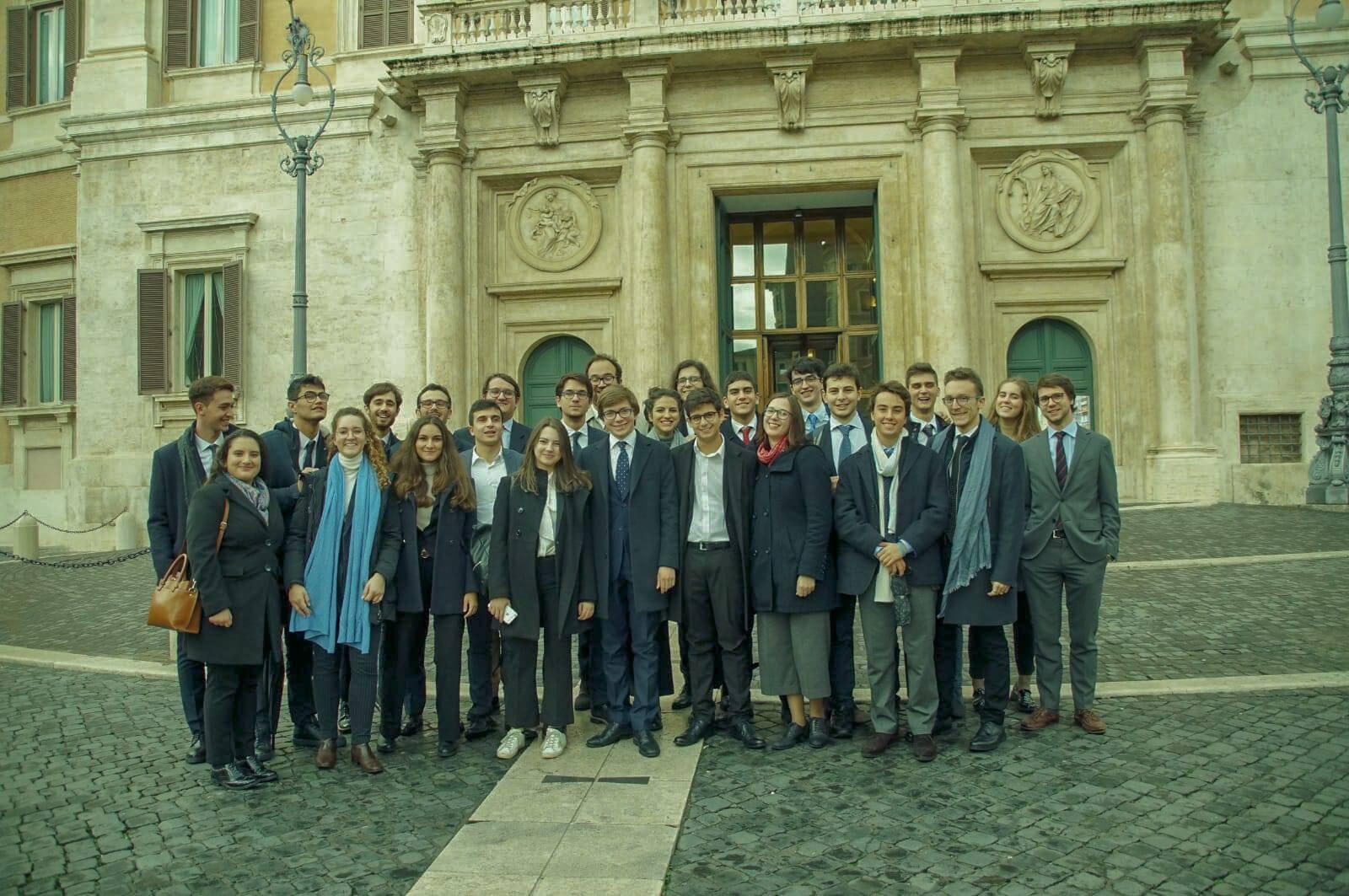 Visita istituzionale degli Allievi a Roma